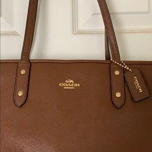 COACH shoulder bag, Brown